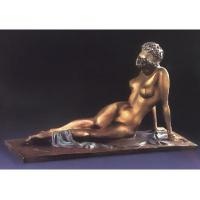 Wholesale western antique nude woman sculpture/bronze figurine from china suppliers