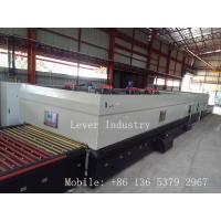 Buy cheap LV-TFQ Series Forced Convection Glass Toughening machine / Glass Tempering Furnace for low-e glass from wholesalers