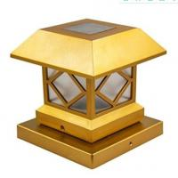 Wholesale Outdoor Solar Post Cap Lights , Waterproof  Solar Lamp Post Light For Patio from china suppliers