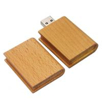 Buy cheap cool novelty book shape USB stick drives 16gb with engraved or printing logo from wholesalers