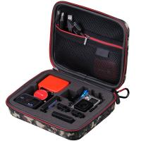 Medium Travel Potable Shockproof Waterproof EVA Protective Camera Carrying Case for Gopro Manufactures