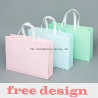 Buy cheap Waterproof Stand Up Plastic Non Woven Reusable Shopping Bags 20-60 Micron Thickness from wholesalers
