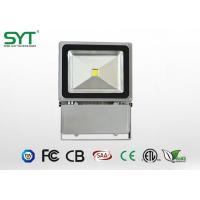 Waterproof COB LED Flood Lights100W , High Wattage Outdoor Colored Led Flood Lights Manufactures
