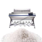 Buy cheap Titanium Steel Food Sorting Machine , One Key Intelligent Salt Color Sorter from wholesalers