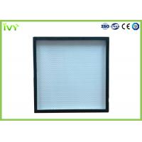 Wholesale H13 H14 High Efficiency Hepa Filter Sturdy Construction For HVAC System from china suppliers