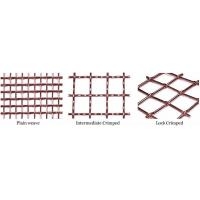 Buy cheap Crimped copper wire mesh from wholesalers