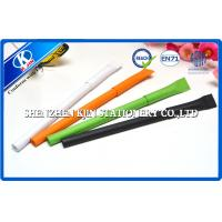 Buy cheap Orange Paper Wrapped Ball Point Pens For Gift , Recycled Point Pens from wholesalers