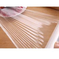 Buy cheap Best Price Fresh PVC Cling Film Jumbo Roll for Food Plastic Wrap from wholesalers