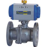 Buy cheap Floating Type Pneumatic Actuator Ball Valve 10 Inch ANSI 600 Flanged End from wholesalers