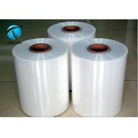 Buy cheap Clear polyolefin Heat shrinkable plastic film , shrink packaging film from wholesalers