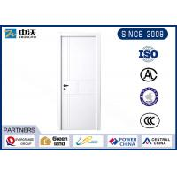 Wholesale Color Optional Fireproof Interior Door With Glass Panels Wear Resistant from china suppliers