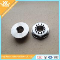 China High Tensile Alloy Titanium Machining Parts From China Factory on sale