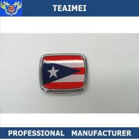 Wholesale Flag Logo ABS Plastic Body Custom Vehicle Emblems Car Decal Car Emblem Badge For Decoration from china suppliers