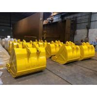 Buy cheap Custom Size Excavator Digging Bucket 0.4-8m3 Capacity Q345B Material For Backhoe from wholesalers