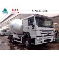 Buy cheap HOWO 9 CBM Transit Mixer Truck , Industrial Cement Mixer With ARK Pump from wholesalers