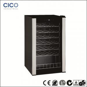 CICO-28Bottles  Compressor Wine Cooler With Black Cabinet and Black Interior