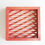 Buy cheap Custom Colors Powder Coating Mesh Ceiling Panels / Diamond Metal Mesh Panels from wholesalers