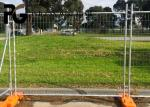 Buy cheap Movable Australia Temporary Fence Netting For Commercial Construction Sites from wholesalers