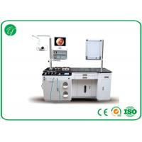 China Toughened Glass Medical ENT Treatment Unit With Halogen Light Source , Double Hole on sale