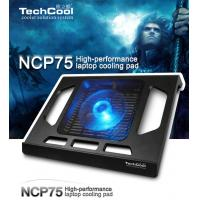 Buy cheap Folding colorful laptop cooling pad USB2.0 notebook cooler with LED light For Notebook from wholesalers