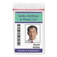 Buy cheap id maker retractable id badge holder pvc card printer security badges work badge lanyards from wholesalers