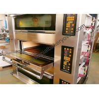 Buy cheap Stone Deck Pizza Oven , Stainless Steel Door Commercial Bread Oven from wholesalers