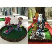 Buy cheap Fiberglass Movie Cartoon Character Statues Beautiful Outdoor Promotion from wholesalers