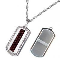 LED Dog Tag  (Rectangle/5*19dot) Manufactures