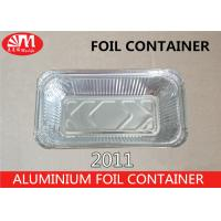 Buy cheap 620ml Volume Aluminum Foil Packaging Foil Containers With Lids For Food from wholesalers