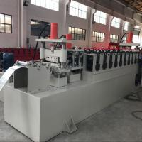 Buy cheap C Channel Cable Tray Roll Forming Machine , Cable Trunking Cover Metal Roll Forming Machines from wholesalers