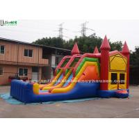 Buy cheap 4 In 1 Amusement Park Inflatable Bounce Houses Rentals EN14960 Approvals from wholesalers