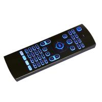 Wholesale RF Wireless Air Mouse Backlight Keyboard Android Remote 4 Keys IR Learning from china suppliers
