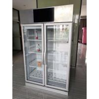 Buy cheap Weight Sense Automatic Vending Machine Double Door 4 Shelves,vending machine for community, fresh food vending, Micron from wholesalers
