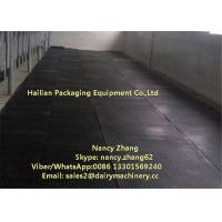 Buy cheap Milking Room Floor Mattress Anti Slip Rubber Mat For Milking Parlor / Cow Free Stall from wholesalers