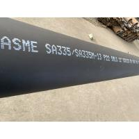 Buy cheap Black Painting Alloy Steel Seamless Pipes Corrosion Resistance With ISO9001 from wholesalers