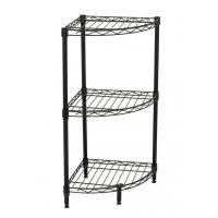 Buy cheap 3-Tier Corner Bathroom Shelf Unit Corrosion Protection NSF Certified from wholesalers