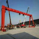 Buy cheap Rail Type Wire Rope Hoist 32T Single Beam Gantry Crane from wholesalers