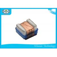 Copper Wire Winding Inductors , Yellow High Performance Ceramic Chip Inductors
