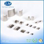 Buy cheap Nickel / Zinc Plating Neodymium Arc Magnets N35 - N52 Grade NdFeB Material from wholesalers