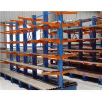 Buy cheap Muliti Lever Metal Cantilever Storage Rack For Lumber /  Plywood / PVC Storing from wholesalers