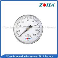 Buy cheap Lead Free General Pressure Gauge Back Connection Phosphor Bronze Tube from wholesalers
