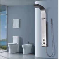 Buy cheap Hot and Cold Water Round Waterfall Shower Panel With Hand Set / Dual Switches from wholesalers