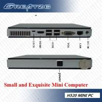 Buy cheap HD Ultra Small Mini PC Computer With INTEL ATOM D525 Dual Core CPU from wholesalers