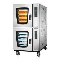 Buy cheap Restaurants Commercial Baking Oven Adjusted Steam Electric Hot Air Convection Oven from wholesalers
