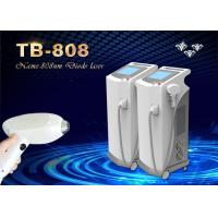 Germany Bars 808nm Diode Laser Hair Removal Machine For All Skin Colors Every Body Area Manufactures