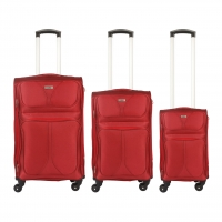 Wholesale Swiss Travel Spinner Wheels Soft Trolley Luggage Sets from china suppliers