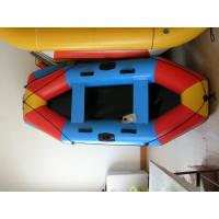 Buy cheap 3 Person Inflatable Boat 280cm , PVC Colorful Inflatable Pontoon Raft For Children from wholesalers