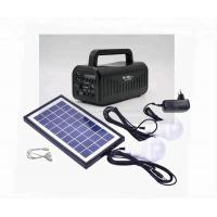 Buy cheap 6V Home solar power generator with mobile charging MP3 player radio speaker LED bulb working 23 hours from wholesalers