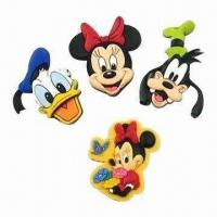 Buy cheap Fridge Magnets, Customized Designs Accepted, Suitable for Premium, Promotions from wholesalers