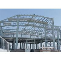 Buy cheap Prefab Structural Steel Workshop Buildings Easy To Assemble Labor Saving from wholesalers
